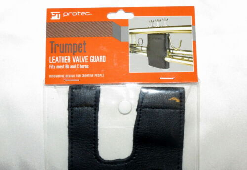 NEW ProtecLeather valve guard for a trumpet to protect your valuable investment
