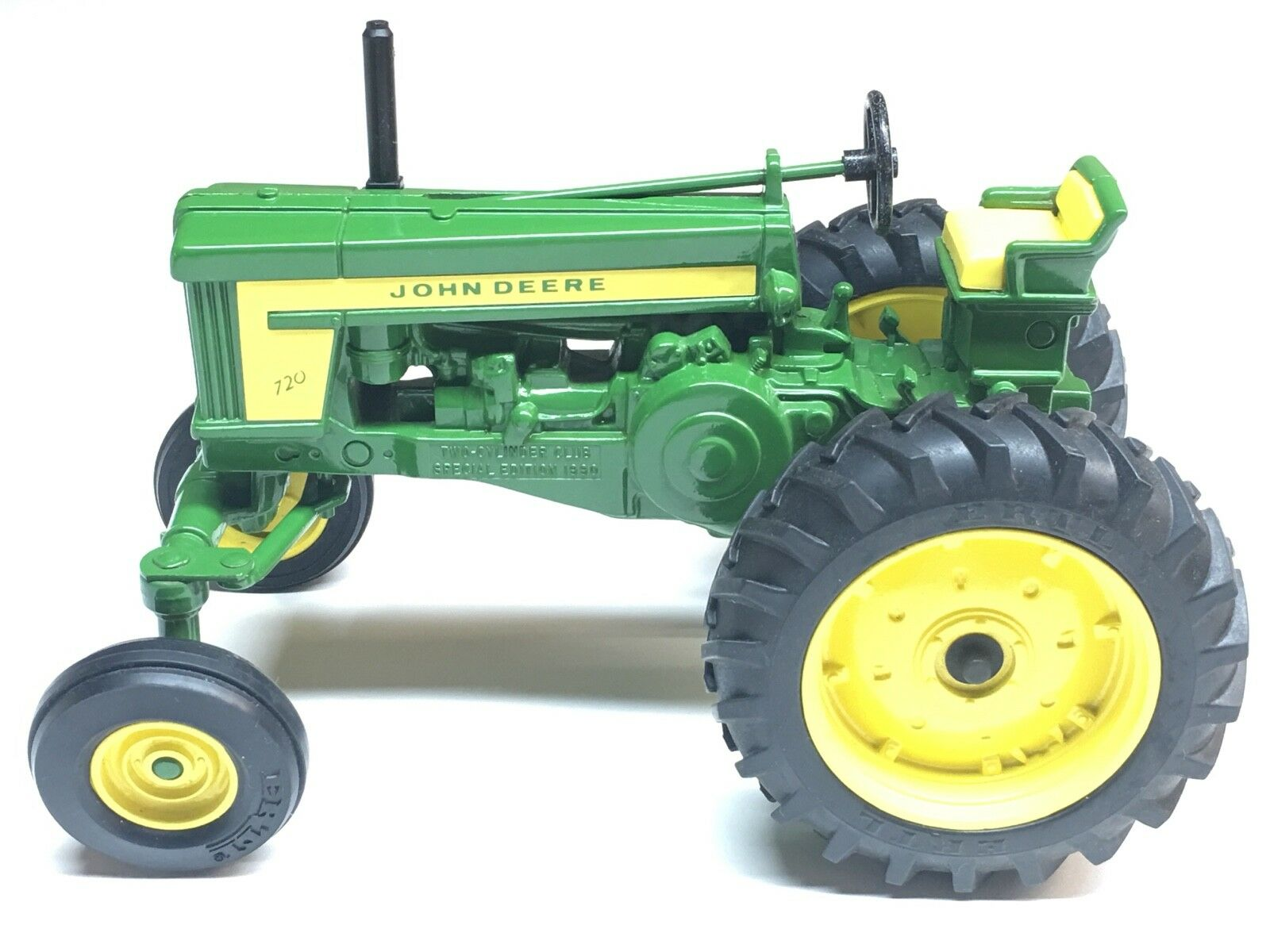 1 16 SCALE JD MODEL 720 HI-CROP TRACTOR COLLECTORS EDITION TWO-CYLINDER SPECIAL