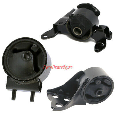 Engine Motor /& Trans Mounts Set For 95-98 Mazda Protege 1.5//1.8L Auto Trans G186