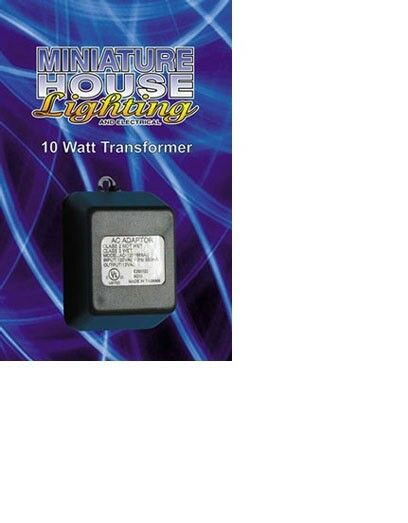 Dollhouse No Miniatures 1 12 Scale 10 W Transformer With No Dollhouse Lead In Item  MH40110 c7c6c6