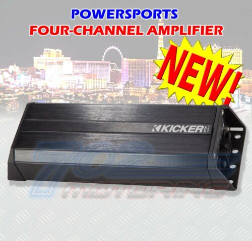 KICKER 42PXA300.4 4-CHANNEL AMPLIFIER 4 MOTORCYCLE ATV UTV RZR CART POLARIS