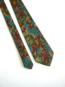 Inquiet Evolution Vintage Cravatta Tie Originale