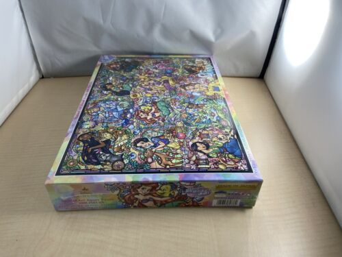 1000 Piece Jigsaw Puzzle Disney Princess Collection Stained Glass Stained Art