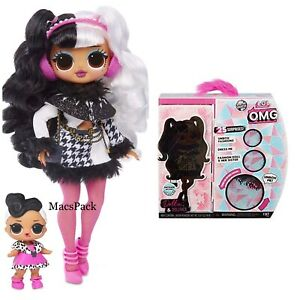 LOL Surprise WAVE 2 DOLLIE OMG Fashion Doll DOLLFACE Winter Disco Series In Hand