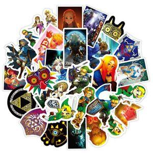 20-Glossy-LEGEND-OF-ZELDA-Art-Stickers-Laptop-Skateboard-PC-039-S-Walls