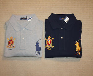 NEW-Polo-Ralph-Lauren-Big-and-Tall-Big-Pony-Crest-Logo-Classic-Fit-Shirt