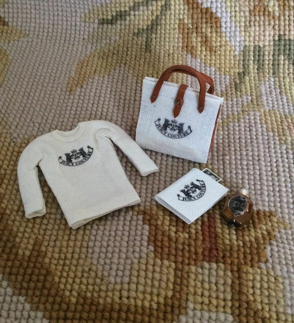 Pat Tyler Casa De Muñecas En Miniatura Colección de Diseño Camisa Libro Diario De Mano p599