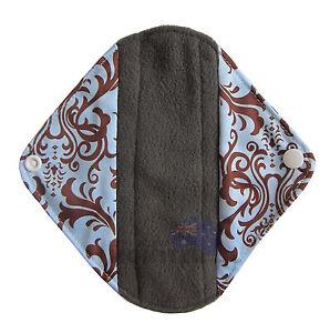 Cloth-Menstrual-Pads-Bamboo-Charcol-Reusable-Sanitary-Liner-Elegant-Light