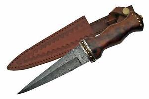 Celtic-Scottish-Genuine-Damascus-Sgian-Skean-Dubh-Dirk-Dagger-12-5-034-Knife
