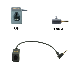 Rj9 To 2 5mm Headset Adapter Connect Rj9 Headsets To Phone S 2 5mm Headset Jack 13964147643 Ebay