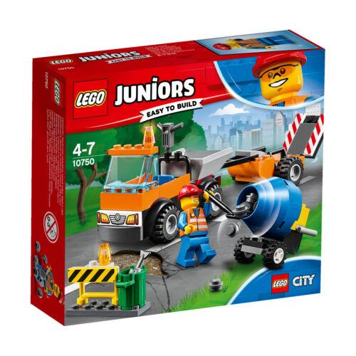 LEGO Juniors 10750 Straßenbau-Laster Le camion de réparation des routes N1//18