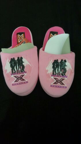 Kids Comfortable Pink X Factor Mule Slippers