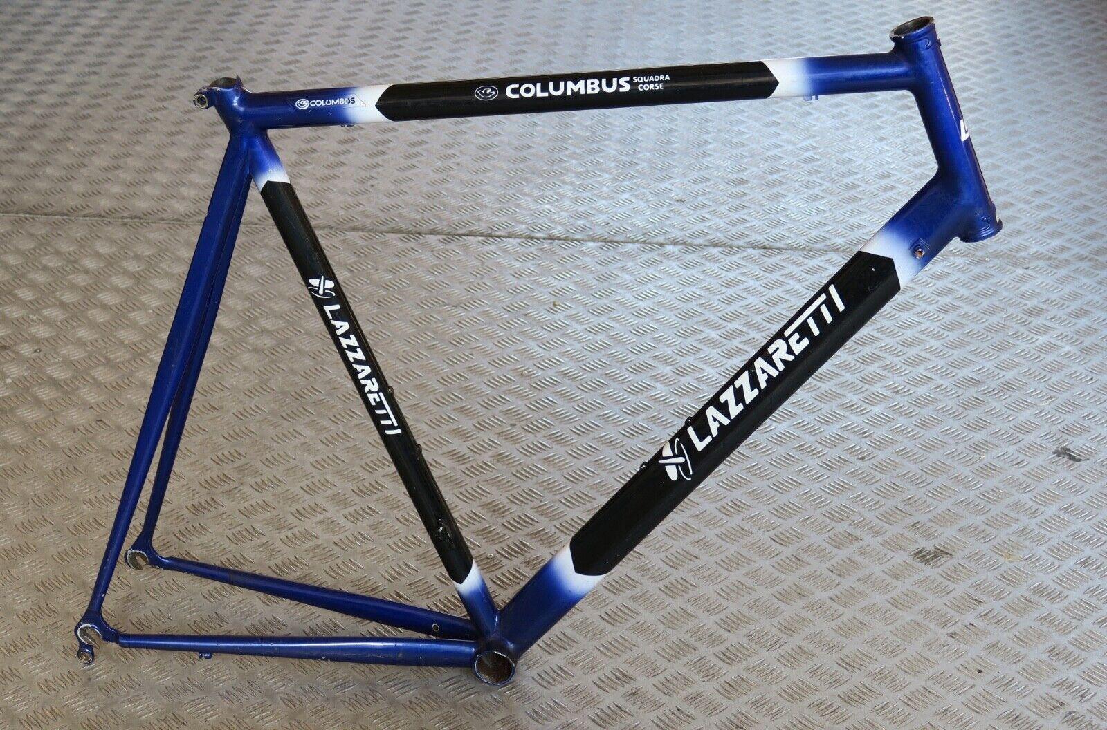 Lazzaretti aluminium road bike frame, 58x57.5l