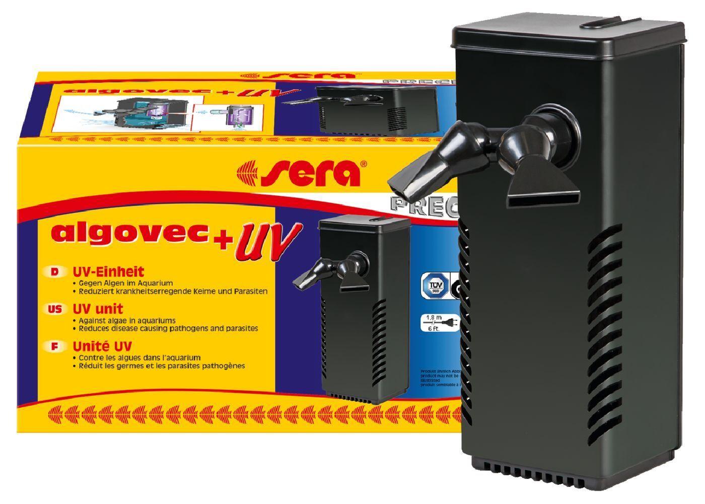 Sera algovec UV Innenfilter für für für Aquarien bis 100 l aedf33