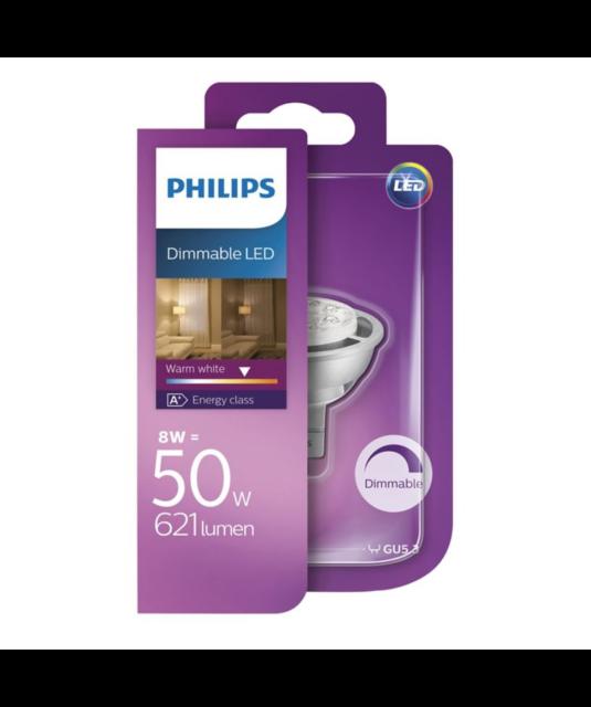 Philips LED 12V MR16 Lamp 8.2W 621lm