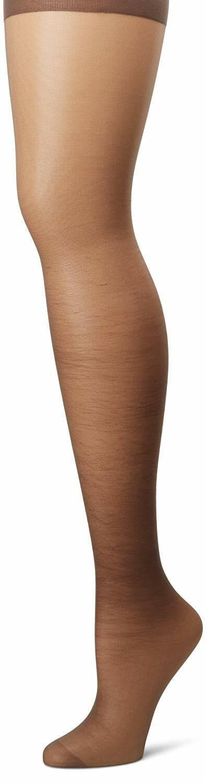 Hanes 00P16 Silk Reflections Plus-Size Control Top Enhanced Toe Pantyhose NEW!!