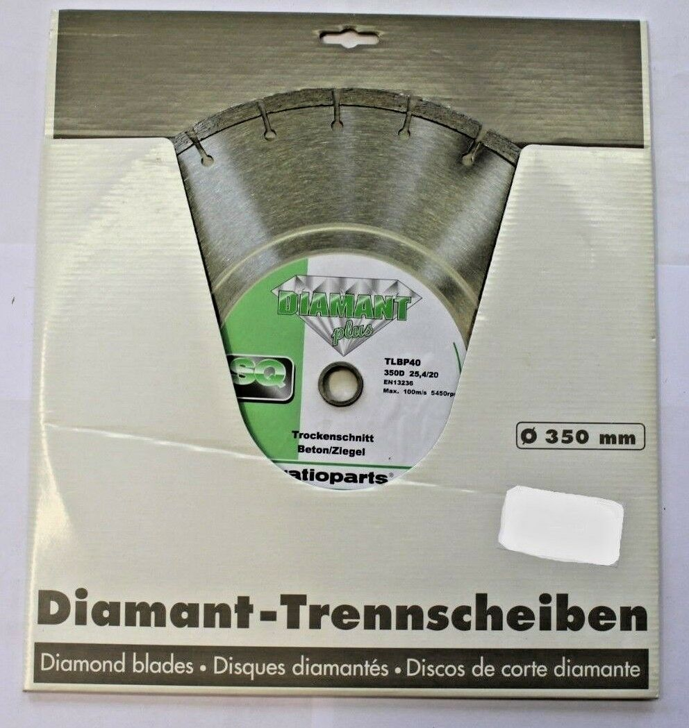 1 x Sägeblatt ratioparts SQ Diamant Plus TLBP40 66-128  Neu   OVP
