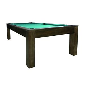 Details About Penelope Pool Table With Dining Top 7 Foot Or 8 Billiard