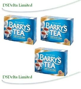 Barry's DECAF Tea 80 Bags (Pack of 3) - SOLD BY DSDELTA IRELAND
