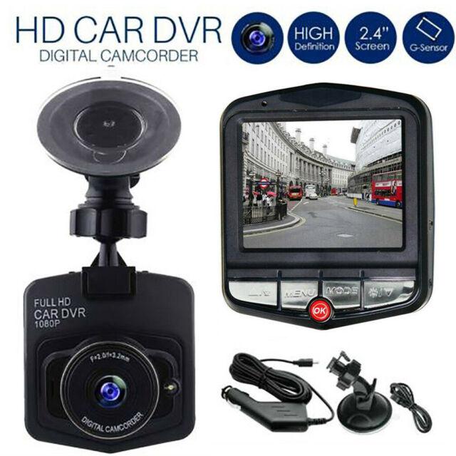 1080P HD Mini LCD Car Dash Camera Video DVR Cam Recorder Night Vision + G-sensor