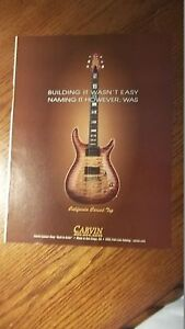 2000-PRINT-AD-FOR-Carvin-California-Carved-Top-Guitar