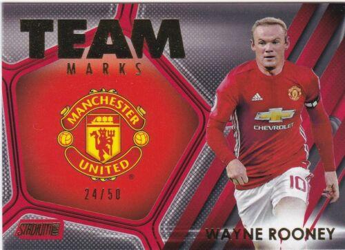 Manchester United Topps Premier Gold Club elige tu fútbol tarjetas Autos