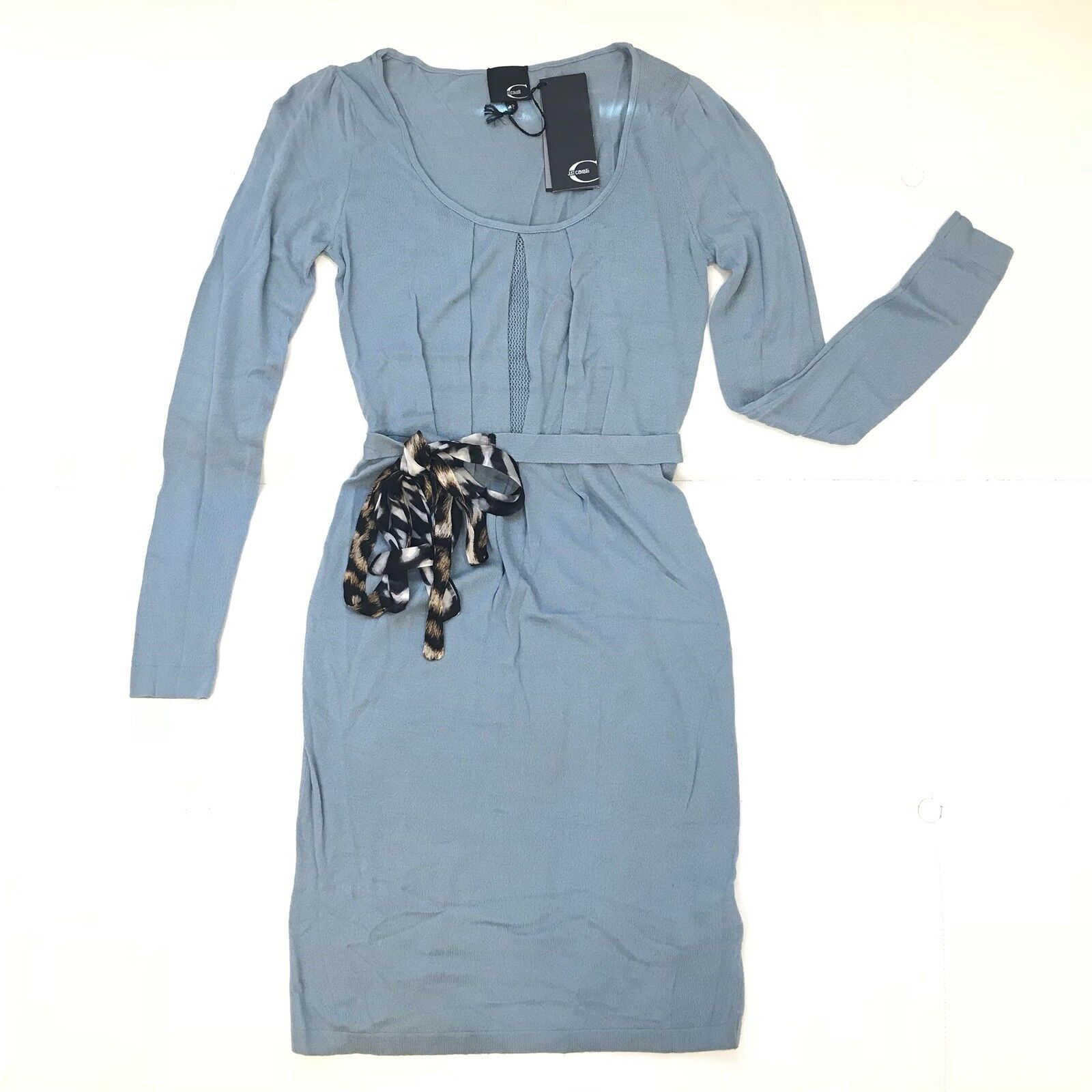 JUST CAVALLI Wool Dress Sz 42