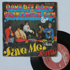 "Vinyle 45T Dave Dee, Dozy, Beaky, Mick & Tich   ""Save me"""