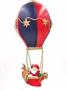 Silvestri-Santa-Claus-Sled-Helium-Air-Balloon-Large-Christmas-Tree-Ornament