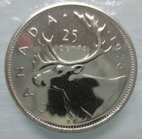 1976 CANADA 25 CENTS SPECIMEN QUARTER COIN