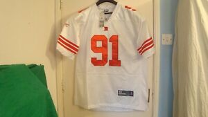 New-York-Giants-Game-Jersey-No-91-Justin-Tuck-New-with-tags-See-Details