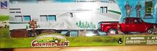 New Ray COUNTRY LIFE FISH CAMP WITH PICK-UP TRUCK 5TH WHEEL TRAILER 1/32 SCALE