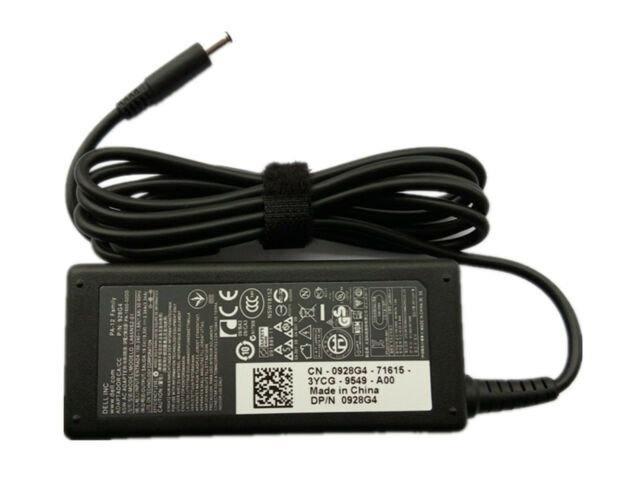 NEW Genuine Dell Optiplex 3060 Micro 5060 7060 XKF5K Power Adapter Charger 65W