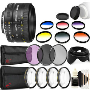 Nikon-AF-FX-NIKKOR-50mm-f-1-8D-Lens-with-Accessory-Kit-for-Nikon-DSLR-Cameras