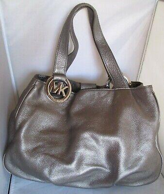 Sublime authentique sac à main MICHAEL KORS cuir de vachette bag à sasir | eBay