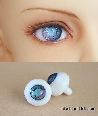 16mm bjd glass doll eyes two shades colors dollfie iplehouse luts #CH-03 ship US