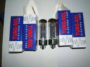 Roehren-EL-34-Tungsol-neu-gem-Quart-Verstaerkerroehren