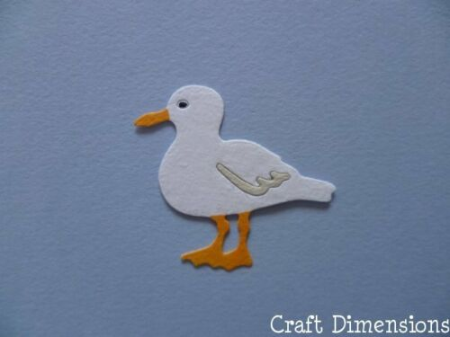 LARGE SEAGULL DIE CUTS FOR BEACH SEASIDE THEMED CARD TOPPERS