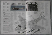 Warplane magazine Issue 19 Grumman A-6 Intruder cutaway drawing & poster