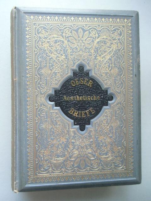 Aesthetische Briefe an eine Jungfrau über Hauptgegenstände der Aestehetik 1880