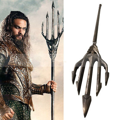 Justice League Aquaman Arthur Curry Cosplay Trident Accessory PVC Weapon Prop