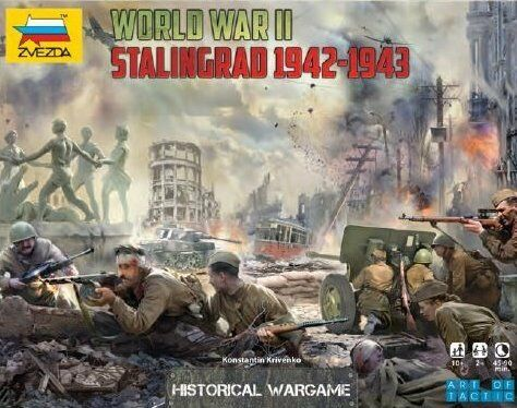 Zvezda 1 72 BATTLE OF STALINGRAD WWII (Historical Wargame) Plastic Mode