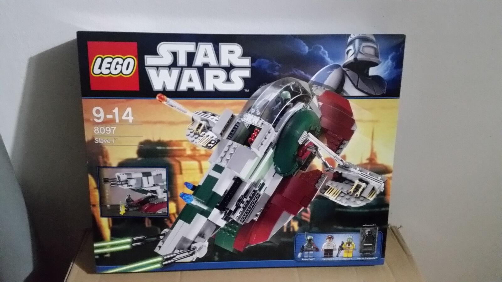 LEGO estrella  guerras SLAVE I (8097) MERCE NUOVA  sport dello shopping online