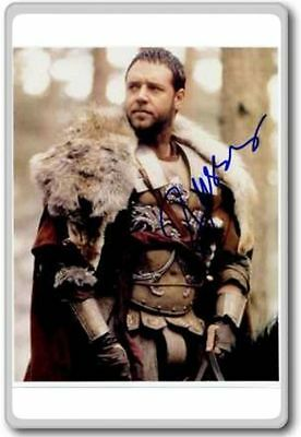 Russell Crowe Autographed Preprint Signed Photo Fridge Magnet