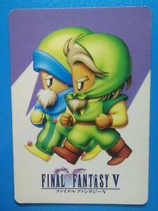 Final Fantasy V 1992 Made in Japan Trading Card No.240 SQUARE Geomancer & Thief