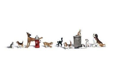 1:87 Woodland Scenics a1841 chiens et chats personnages miniatures mondes h0