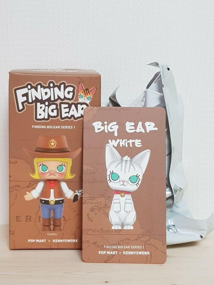 Molly Kennyswork Pop Mart encontrar grandes blancoo figura Kenny Wong secreto del oído