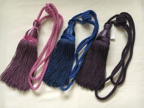 Choose Colour RRP £150 ea Hold Back VILLESAVIN Designers Guild Curtain Tie