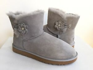 61a63541d24 Details about UGG MINI BAILEY PETAL BLING SEAL FLOWER CRYSTAL BOOT US 5 /  EU 36 / UK 3.5