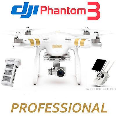 DJI Phantom 3 Professional Quadcopter w/ 4K Camera & 3-Axis Gimbal Drone